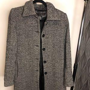 Trendy Long Wool Coat - Women's size 10